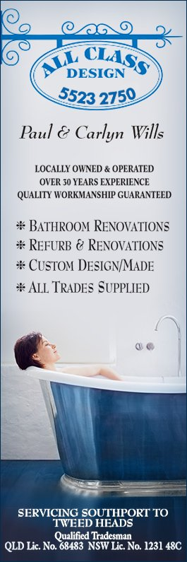 Bathroom Renovations Tweed Heads all class design - bathroom renovations & designs - tweed heads south