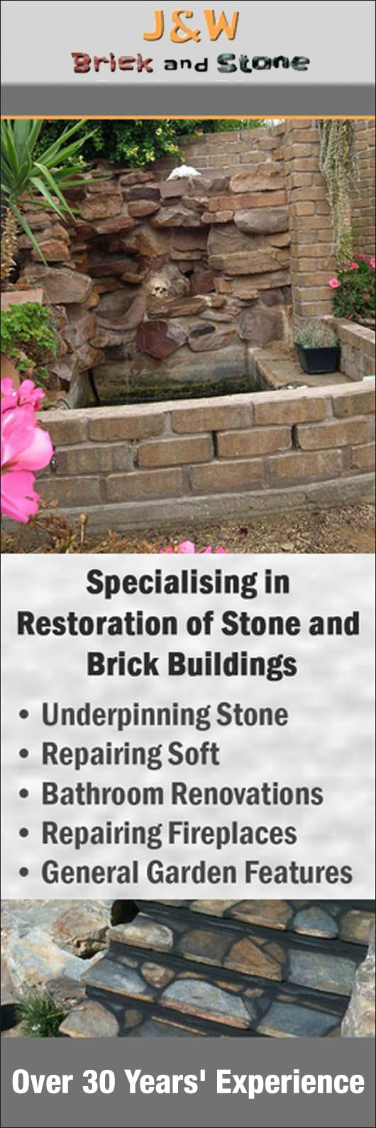 Bathroom Renovations Yorke Peninsula j & w bricks & stone - stonemasons & stonework - fitzroy