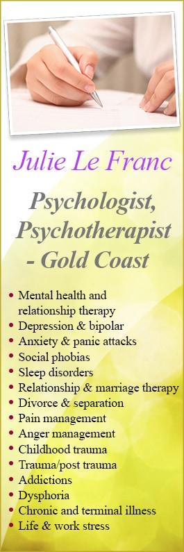 Le Franc Psychoanalysis Services - Psychologist - Level 1