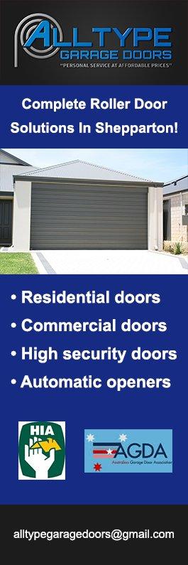 Alltype Garage Doors Garage Doors Fittings Shepparton