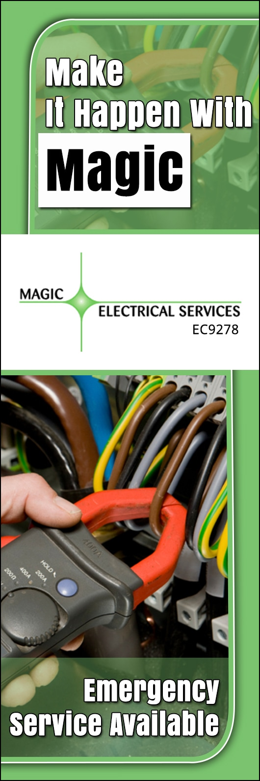 Magic Electrical Services Pty Ltd Electricians Wiring Promotion