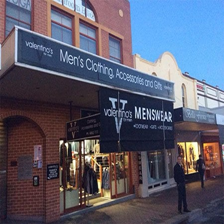 Valentino's For Men - Menswear--Retail - Shop 1/ 368 Bong