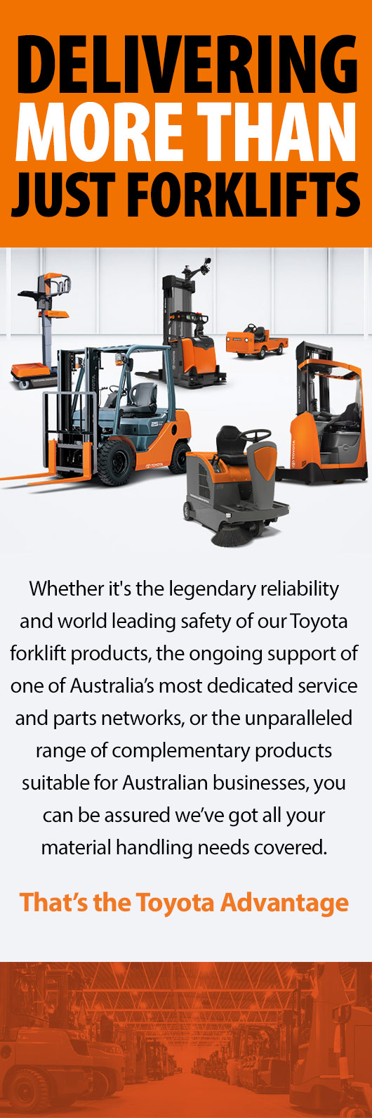 Toyota Material Handling Forklifts Forklift Repairs East Albury