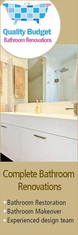 Wondrous Quality Budget Bathroom Renovations Bathroom Renovations Download Free Architecture Designs Grimeyleaguecom