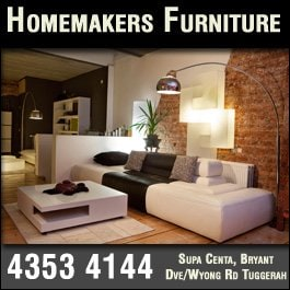 Designer comfort lazboy gallery furniture stores for Homemakers furniture nsw