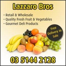 Lazzaro Bros - Fruit Shops & Greengrocers - 90 York St - Sale