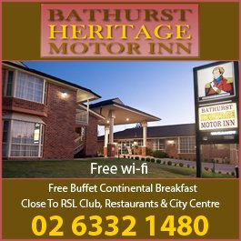 bathurst heritage motor inn motels bathurst. Black Bedroom Furniture Sets. Home Design Ideas