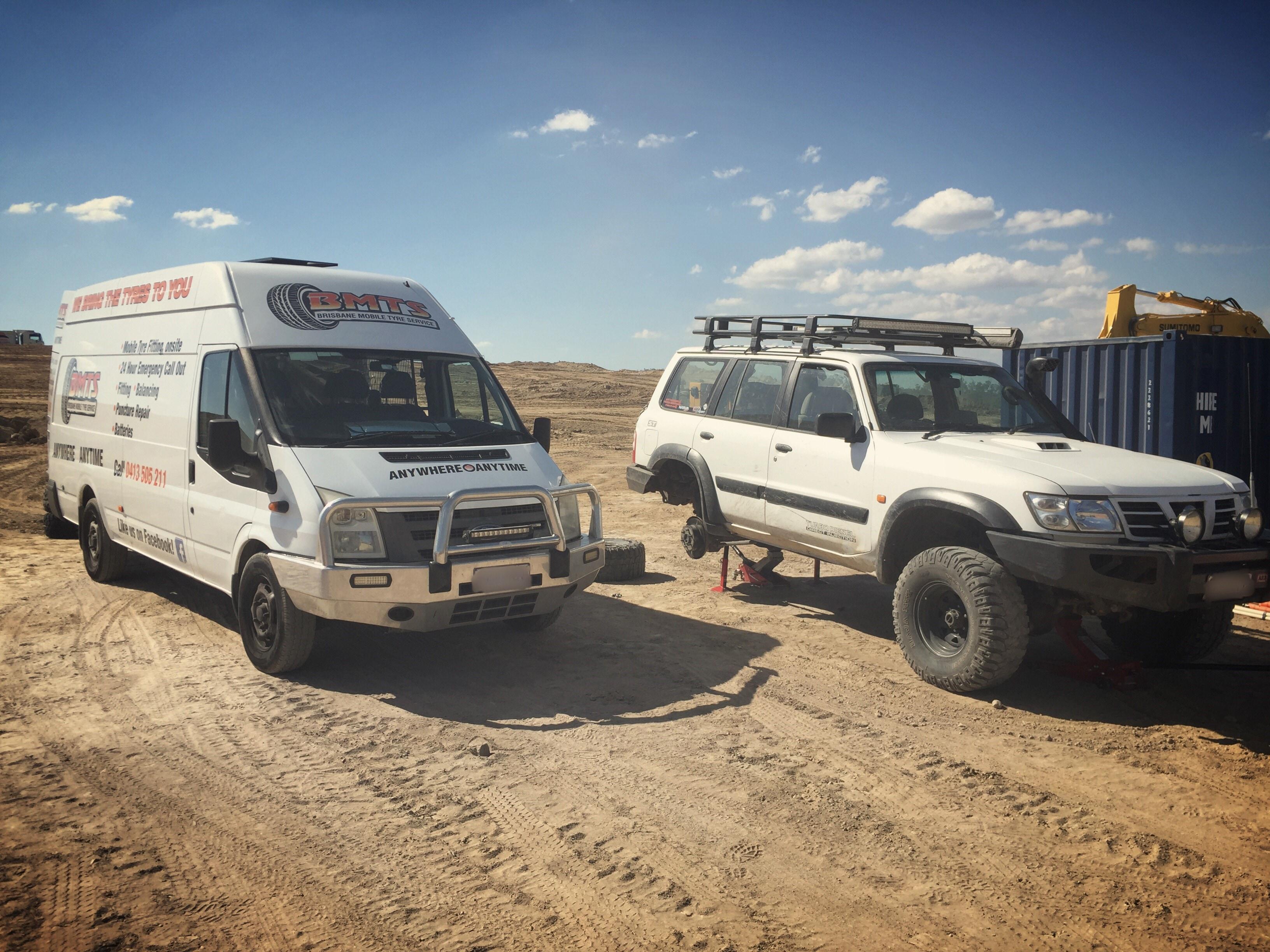 Mobile tyre service brisbane