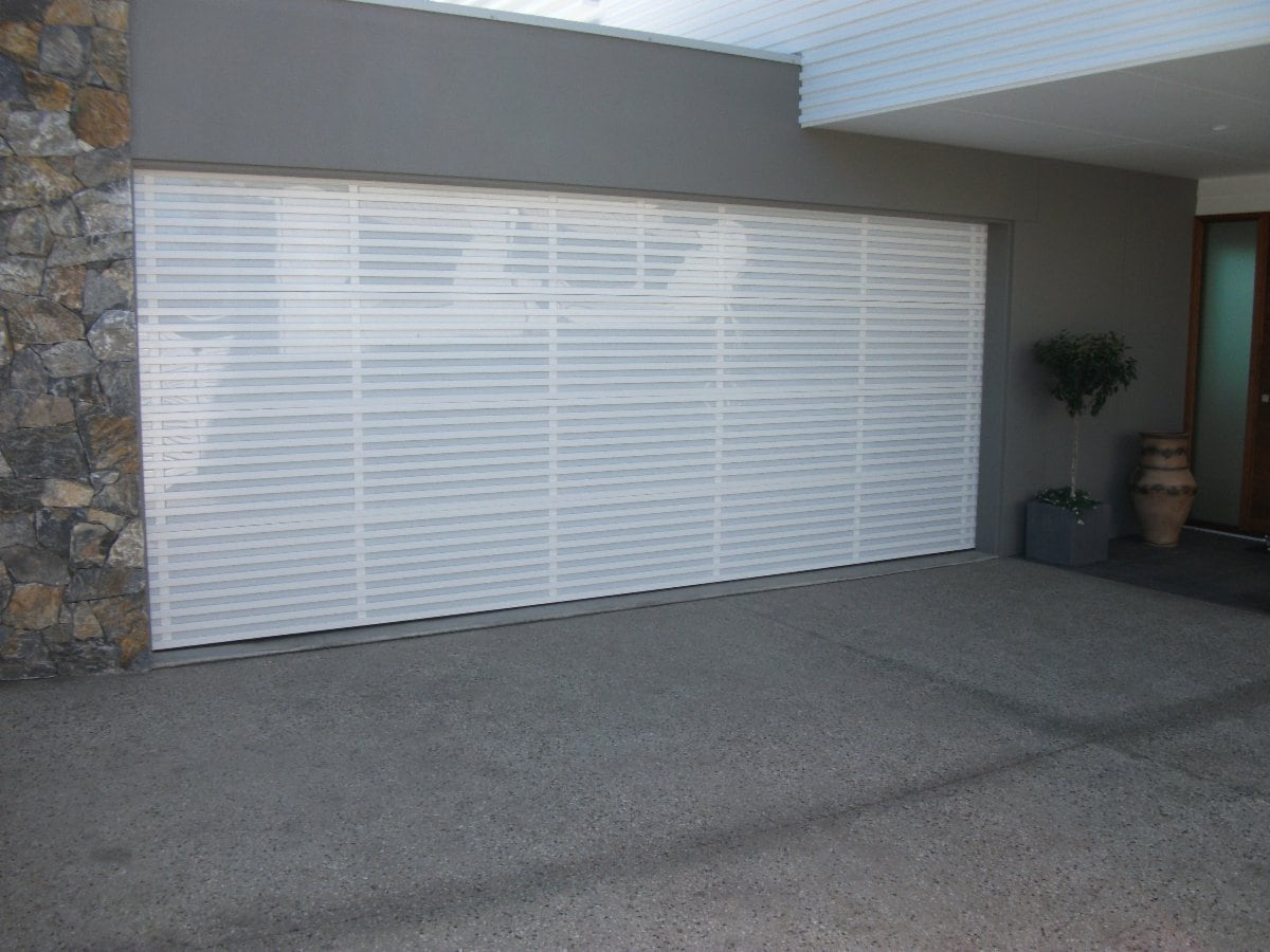 noosa garage doors pty ltd gates 1 4 leo alley rd noosaville custom designed powder aluminium acrylic sectional garage door
