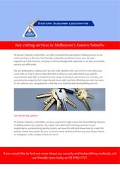 Eastern Suburbs Locksmiths (Boronia) - Locksmiths & Locksmith