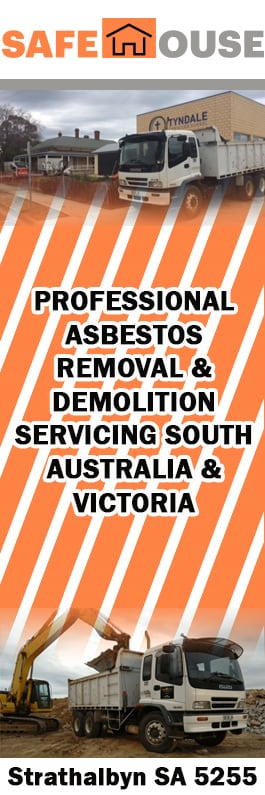 Safe house asbestos removal demolition asbestos removal mt gambier safe house asbestos removal demolition promotion yelopaper Choice Image